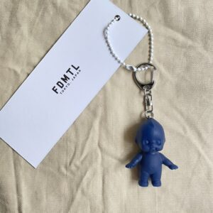 【FDMTL】×【OBITSU SOFVI】KEWPIE KEY CHAIN NAVY