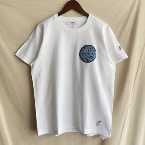 【FDMTL】BORO PATCH S/S TEE WHITE