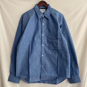 【SEUVAS】Chambray Farmers shirt  Indigo