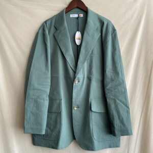 【melple】Tomcat Vacation Jacket-Linen Green