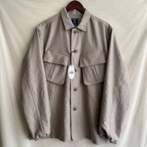 【melple】Bed To Park Field Shirt Greige