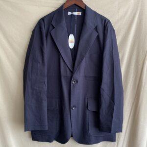 【melple】Tomcat Vacation Jacket-Linen Navy