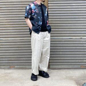 【weac.】一味違うスペシャルな柄シャツ。