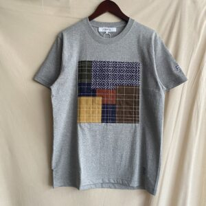 【FDMTL】PATCHWORK S/S TEE -21AW GRAY