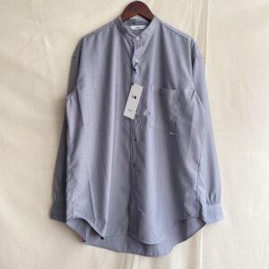 【amne】GABARDINE B.C L_s shirts GRAY