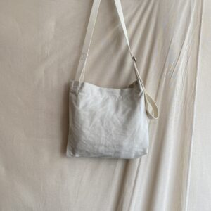 【TOOLS】newspaper bag S IVORY