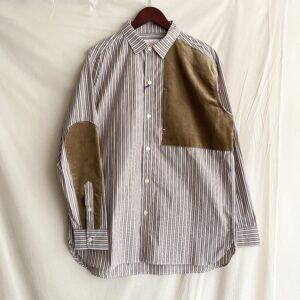 【melple】Seaview Field shirts Brown