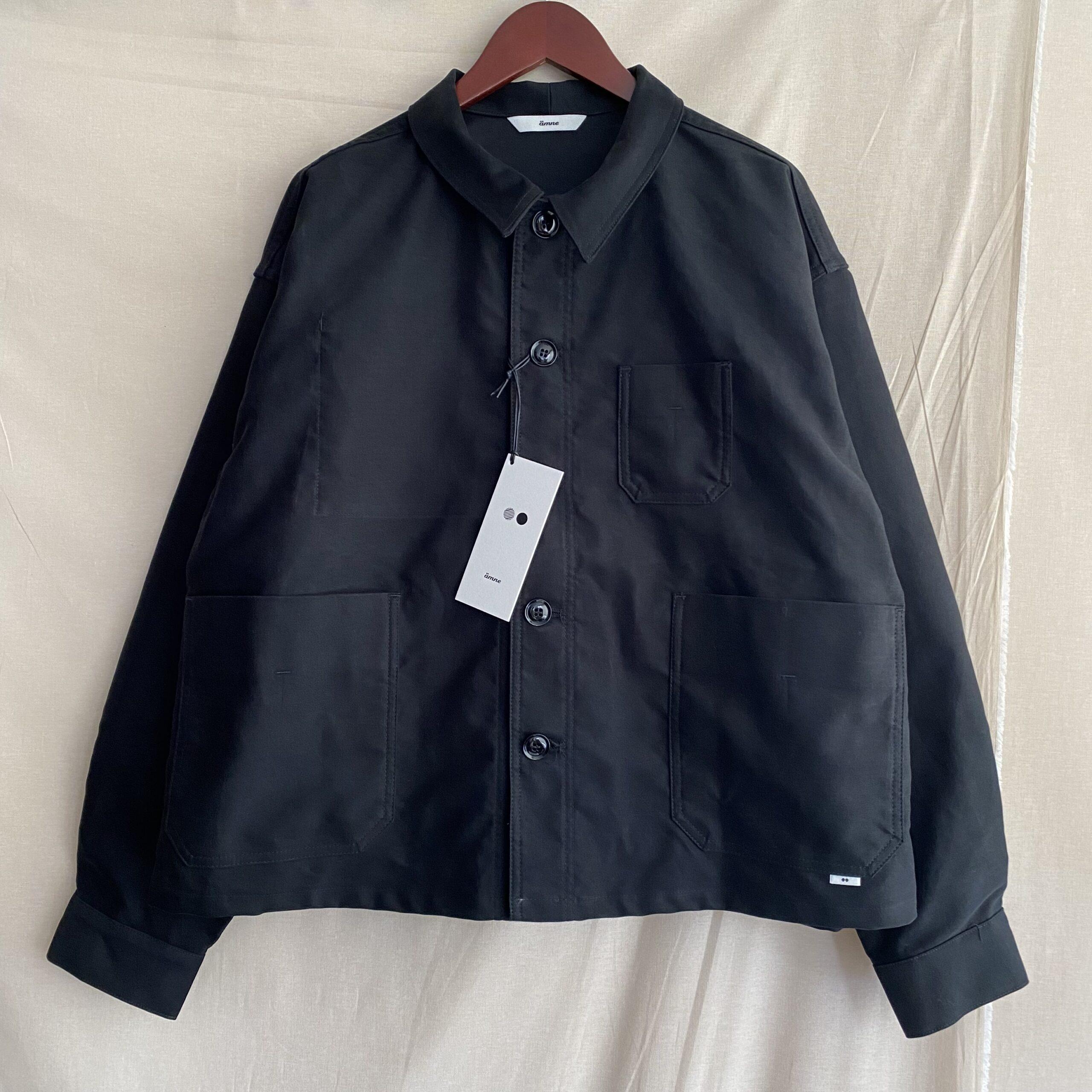 【amne】MOLESKIN crop jacket 入荷!!